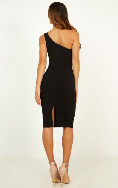 Got Me Looking Dress In Black - 4 (XXS), Black, hi-res image number null