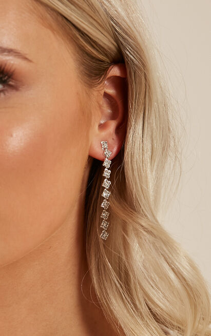 Kiss Somebody earrings in silver, , hi-res image number null