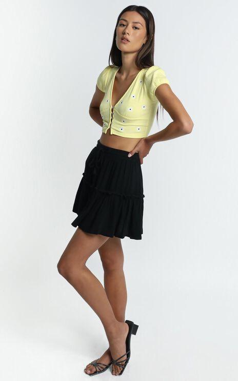 Alaina Skirt in Black