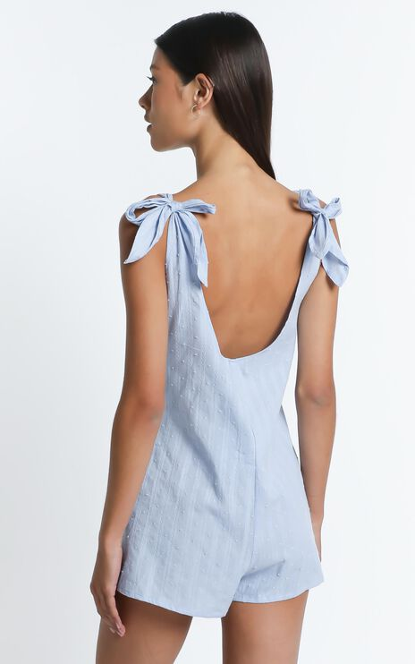 Brona Playsuit in Light Blue