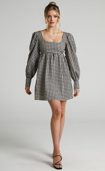 Charlie Holiday - Jemma Dress in Gingham
