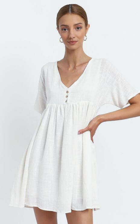 Coraline Dress in White