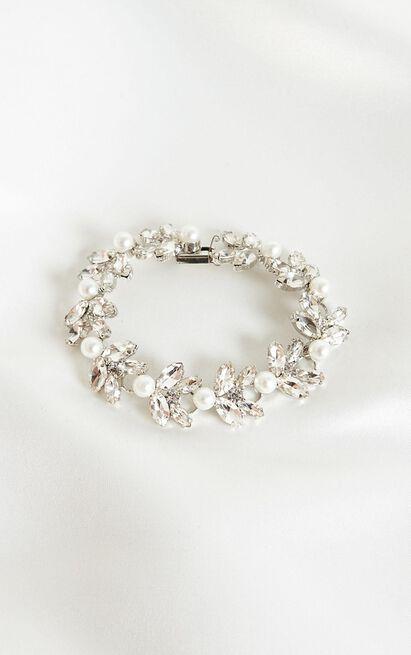 Deserve Your Love Bracelet In Silver, , hi-res image number null