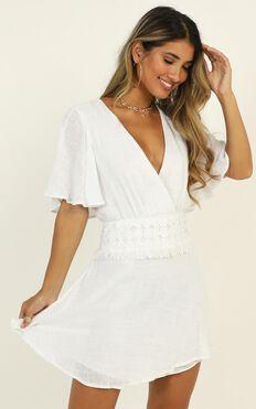 Berkley Dress In White