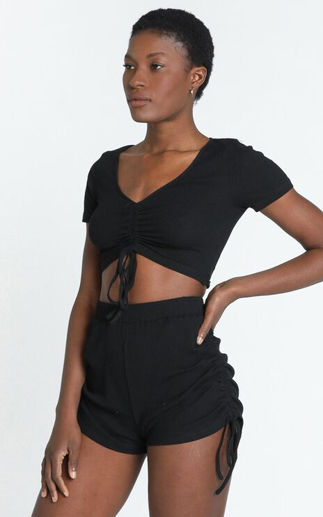 Jemila Top in Black