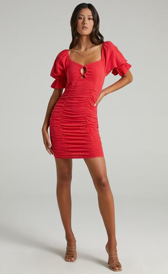 Coty Dress in Red