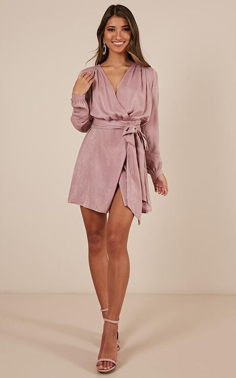 Into The Sky Dress In Blush