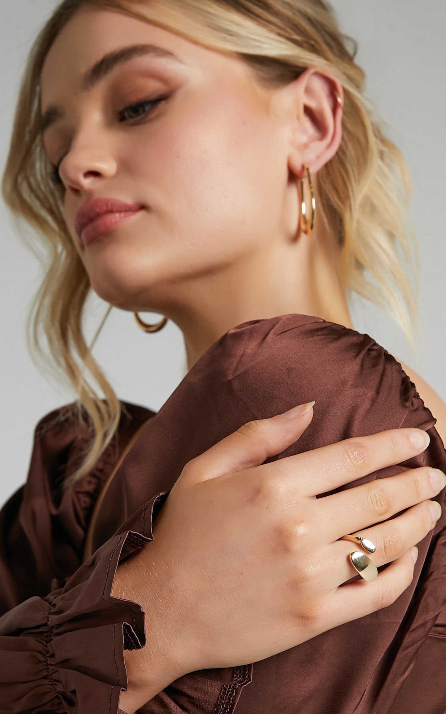 Stacee Ring in Gold - NoSize, GLD1, super-hi-res image number null