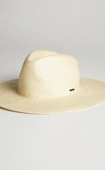 Brixton - Seaside Sun Hat in Natural