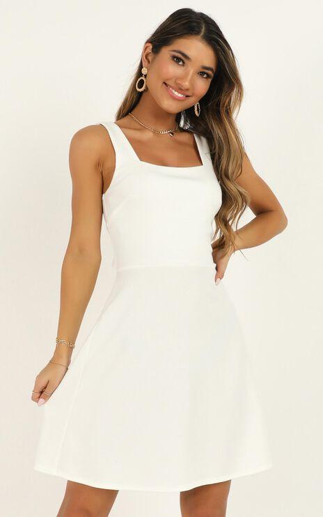 Morning Love Dress In White