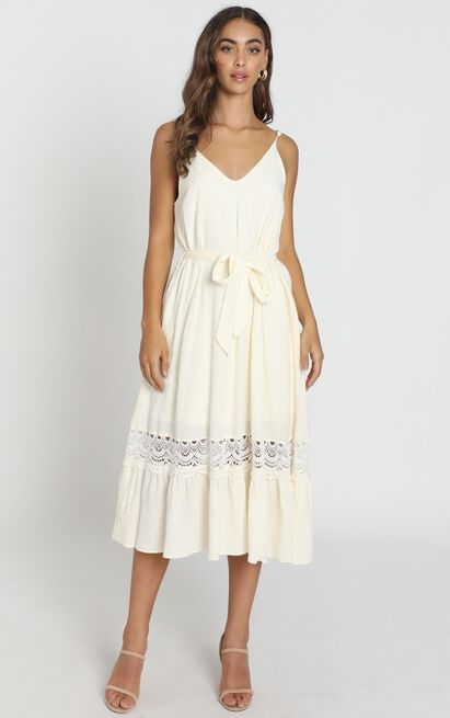 Brittany Dress in Cream, Cream, hi-res image number null