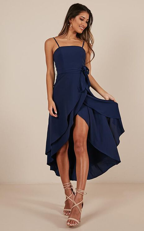 We Can Rule Dress In Navy