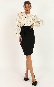 Among Others Skirt In Black