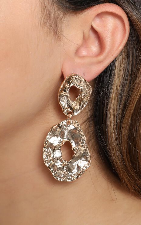 JT Luxe - Palermon Drop Earrings in Gold