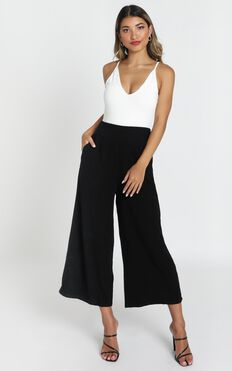 Izabel Pants In Black