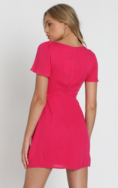 Spell Caster dress in berry - 20 (XXXXL), Pink, hi-res image number null