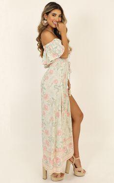 Lasting Legacy Dress In Sage Floral
