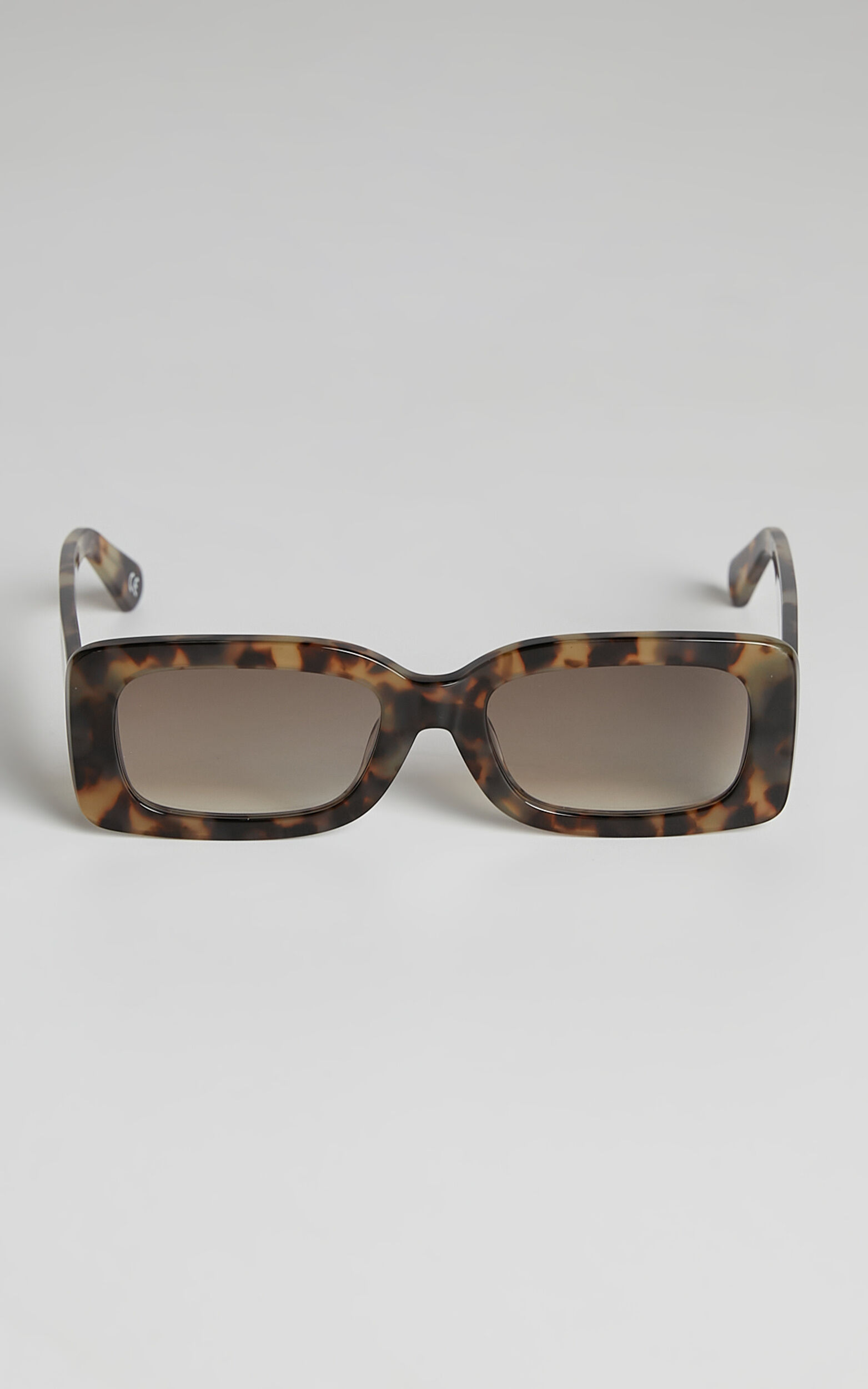 Luv Lou - The Margot Sunglasses in Mocha Tort - OneSize, BRN1, super-hi-res image number null