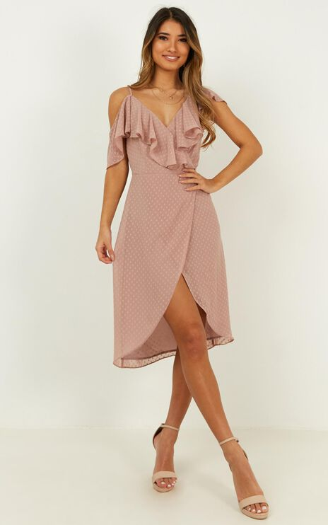 About You Dress In Blush