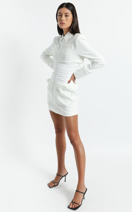 Lioness - The Sweetest Thing Mini Dress in White