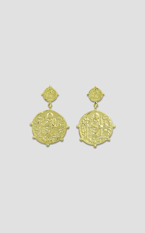Jolie & Deen - Marisa Hoop Earrings in Gold
