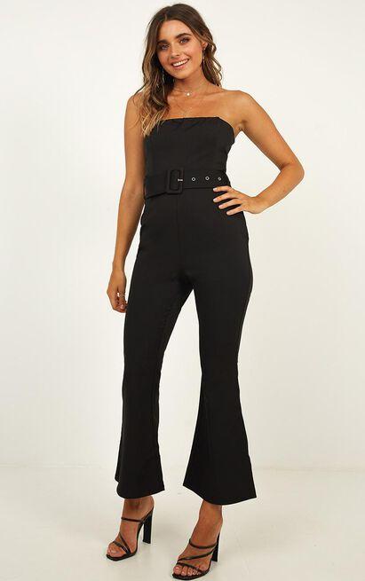 Boogie Nights Jumpsuit in black - 14 (XL), Black, hi-res image number null