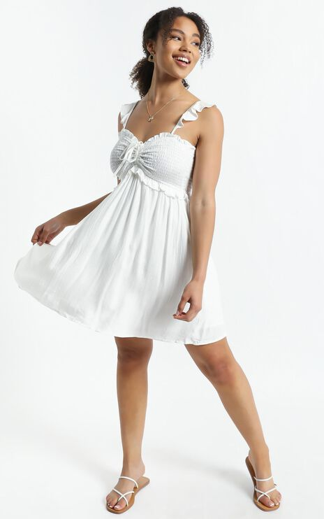Rissa Dress in White