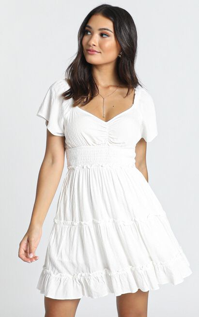 Hearts Content Dress in white - 12 (L), White, hi-res image number null