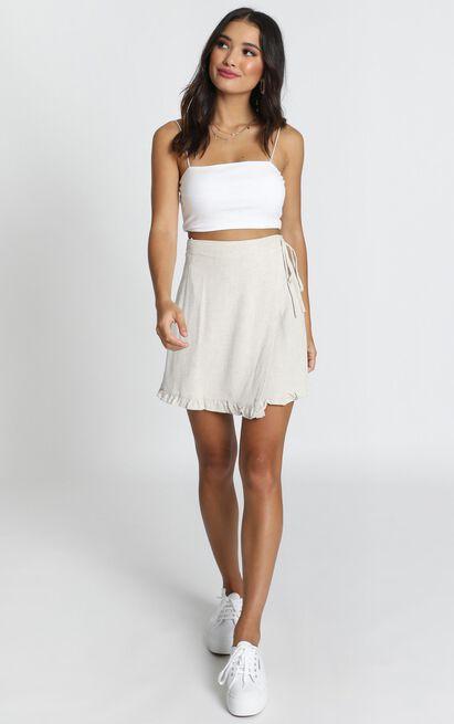Part Of Me Skirt in beige - 12 (L), Beige, hi-res image number null
