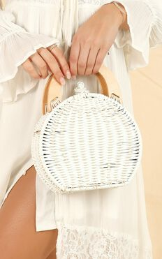 Summer Love Bag In White