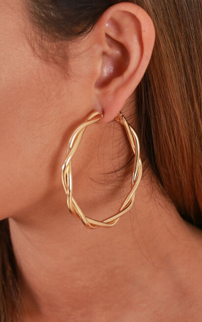 Moonlight Love earrings in gold, , hi-res image number null
