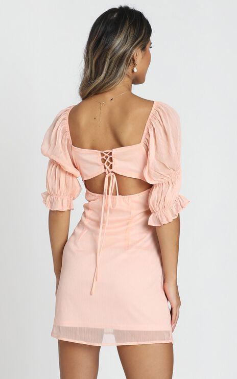 Willow Dress in peach