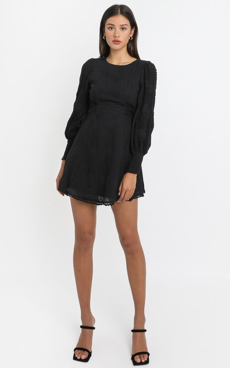 Reverie Dress in Black