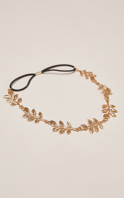 Without Your Heart headband in gold, , hi-res image number null