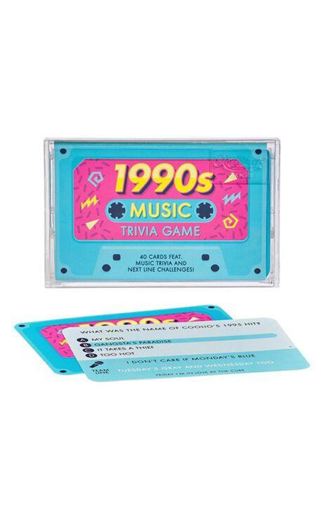 1990s Music Trivia Tape Quiz