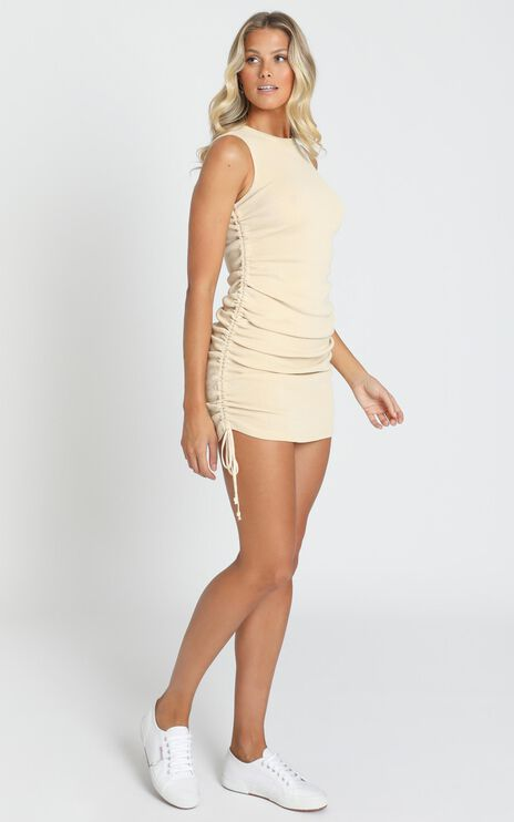 Lioness - Military Minds Dress in Cream