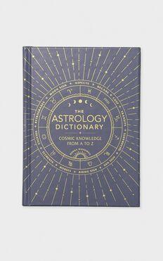 Astrology Dictionary Black