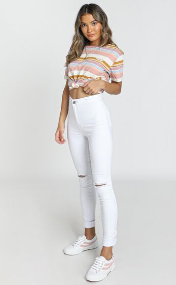Carly Jeans in White