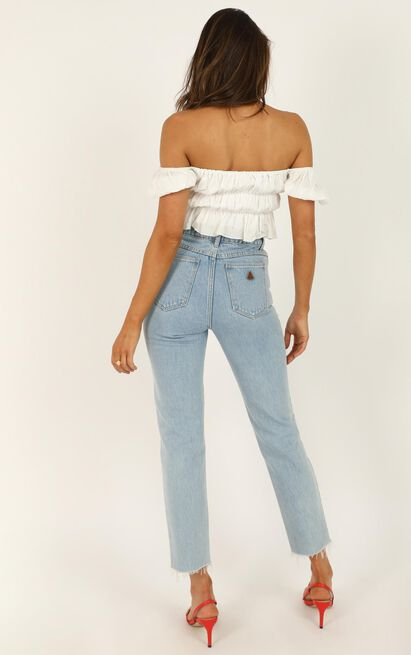 Abrand - A '94 High Slim Jeans in walk away - 6 (XS), Blue, hi-res image number null