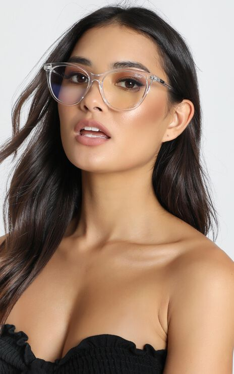 Quay - All Nighter Blue Light Glasses In Clear