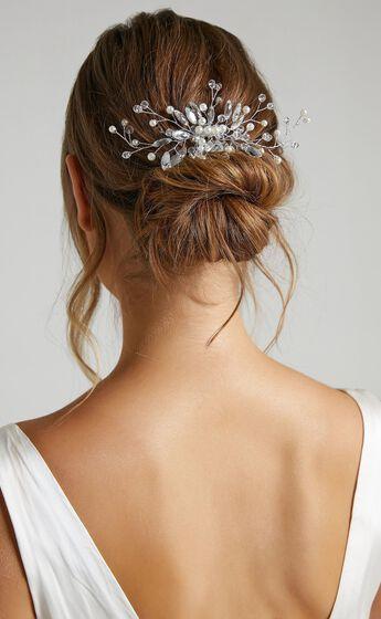 Dreamlover Hair Piece in Silver