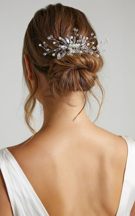 Dreamlover Hair Piece in Silver