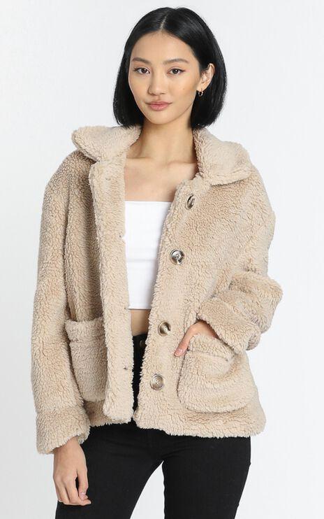 Tasha Coat in Beige