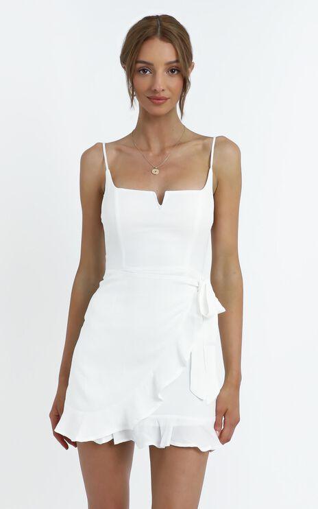 Hunter Dress in White