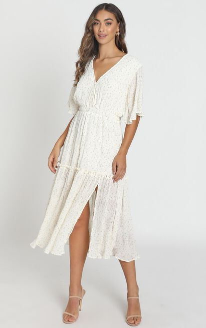 Remi Midi Dress in white - 6 (XS), White, hi-res image number null