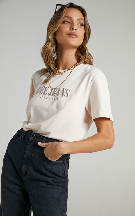 Lee - Classic Tee in Pirouette Pink