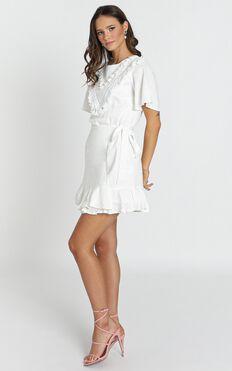 Nadine Dress In White
