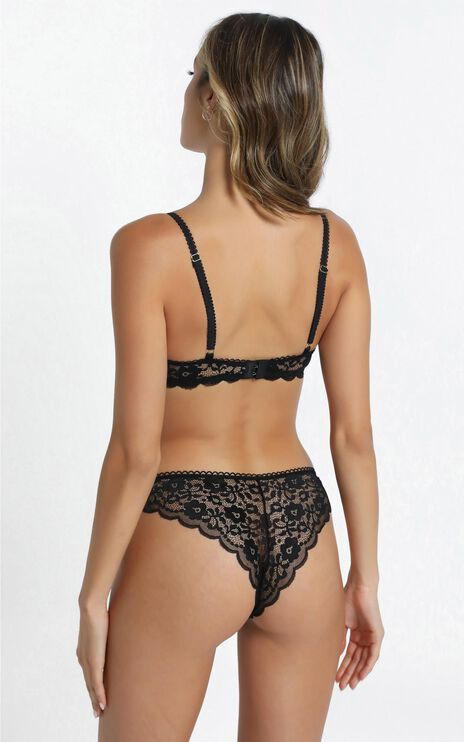 Kat The Label - Annie Underwear in Black Lace
