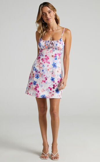 Ive Got You Now Dress in Blur Floral