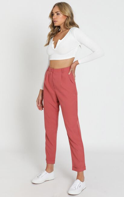 Goal Stomper Pants in dusty rose - 20 (XXXXL), Pink, hi-res image number null